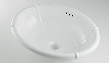 カクダイ KAKUDAI 丸型洗面器 No.LY-493209 [D010808]