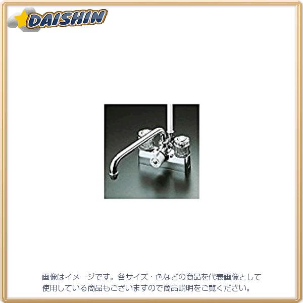 KVK 寒 デッキ止水2ハンドルシャワー KF205Z [A150201]