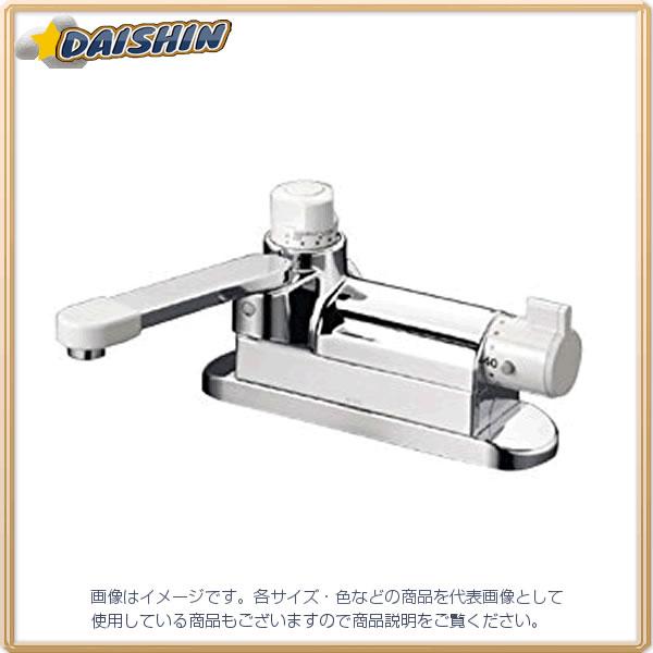 【★店内ポイント2倍!★】KVK デッキ定量サーモスタット混合栓 KM297G [A150201]