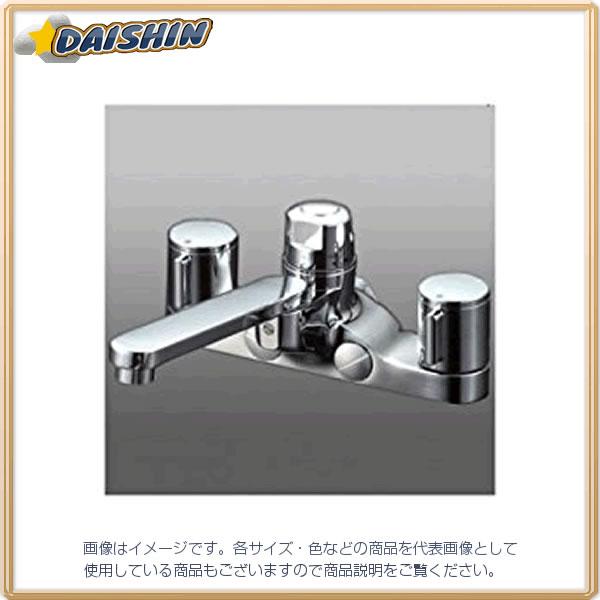 【★店内ポイント2倍!★】KVK 寒 デッキ定量2ハンドル混合栓 KM296ZGT [A150201]
