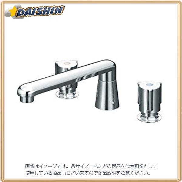KVK 2ハンドル混合栓 ユニオン接続 KM84G [A150201]
