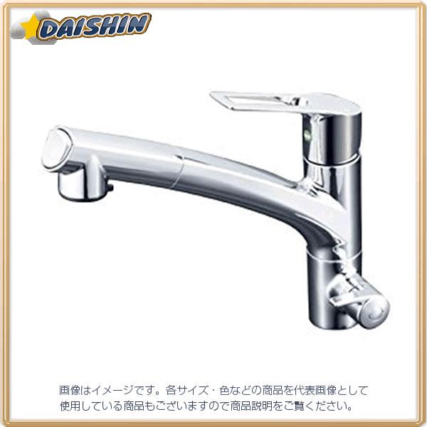 【★店内ポイント2倍!★】KVK 浄水シングル混合栓 eレバー KM5061NSCEC [A150201]