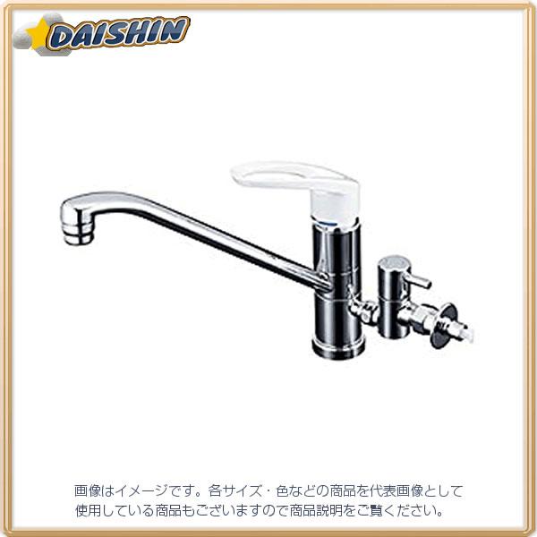 【★店内ポイント2倍!★】KVK 流し台混合栓 止水栓付 KM5041CTU [A150201]
