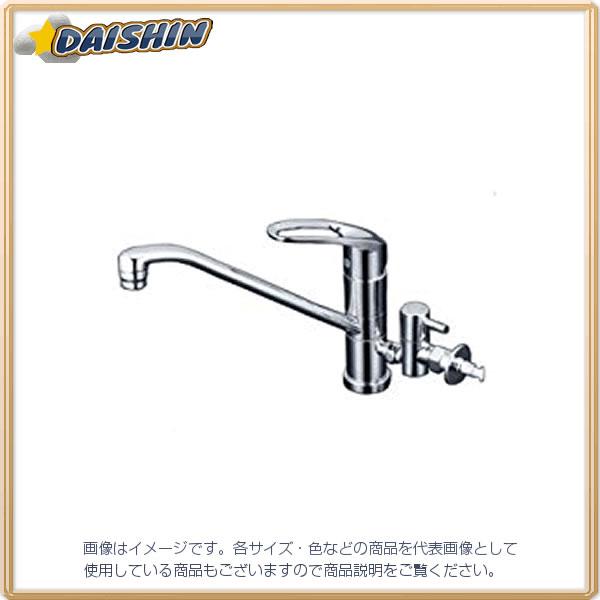【★店内ポイント2倍!★】KVK 流し台混合栓 止水栓付 KM5041CTTU [A150201]
