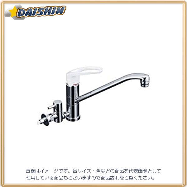 【◆◇マラソン!ポイント2倍!◇◆】KVK 流し台混合栓 止水栓付 KM5041HTU [A150201]