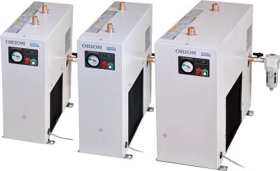 オリオン機械 【代引不可】【直送】 標準型冷凍式エアードライヤー(RAX小型シリーズ) RAX6J-A1 [A071813]