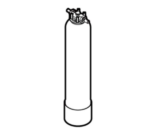 アズワン AS ONE 【代引不可】【直送】 カートリッジ純水器 15型予備ボンベ 1-3135-03 [A100806]