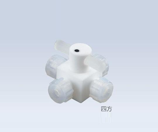アズワン AS ONE バルブ圧入型四方 AF-VAL1/4-4 2-503-05 [B020305]