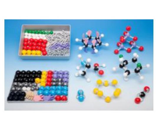 アズワン AS ONE 分子モデルシステム 無機/有機セット L 3-7128-06 [F071003]