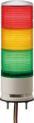 【◆◇スーパーセール!エントリーでP10倍!期間限定!◇◆】デジタル 赤黄緑 60 積層式LED表示灯直付 XVGB3W RYG [A072121]