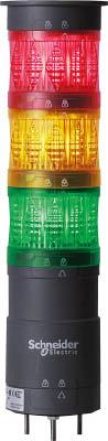 【◆◇マラソン!ポイント2倍!◇◆】デジタル 赤橙緑 60 積層式LED表示灯 直取付 XVU6B3ROGW [A072121]