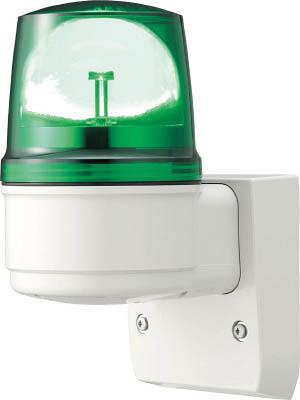 【◆◇マラソン!ポイント2倍!◇◆】デジタル アローシリーズ 緑 110 LED回転灯(壁付) 100V LRSL-100G-A [A072121]