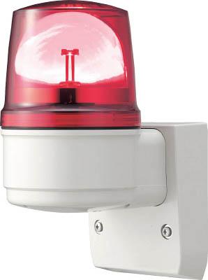 【◆◇マラソン!ポイント2倍!◇◆】デジタル アローシリーズ 赤 110 LED回転灯(壁付) 100V LRSL-100R-A [A072121]