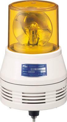 【30日限定☆カード利用でP14倍】デジタル アローシリーズ 黄 回転灯+アラーム(2音) 100V ACA-100SY [A072121]