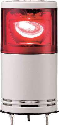 デジタル アローシリーズ 赤 100 積層式LED回転灯+ブザー UTLRB-100-1R [A072121]