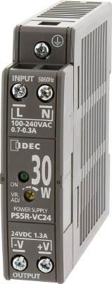 IDEC アイデック PS5R-V形スイッチングパワーサプライ(薄形DINレール取付電源) PS5R-VE24 [A072121]