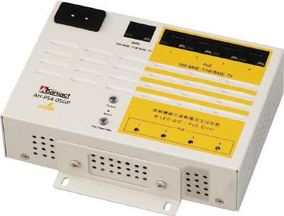 因幡電機産業 Abaniact Gigabit Switching PoE給電HUB 5ポート AH-PS4-05GP [A051700]