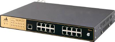因幡電機産業 Abaniact Layer-2 Intelligent Gigabit Swi AML2-PS16-17GP [A051700]