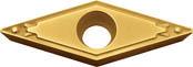 京セラ KYOCERA 旋削用チップ PVDコーティング PR1025(10個入) VBMT160408HQ [A080115]