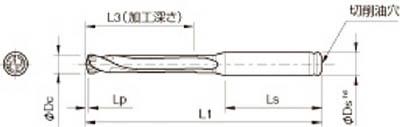 京セラ KYOCERA ドリル用ホルダ SS16-DRC145M-5 [A080115]