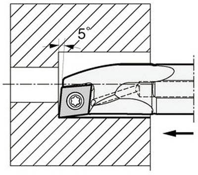京セラ KYOCERA 内径加工用ホルダ A25S-SCLPL09-27AE [A080115]