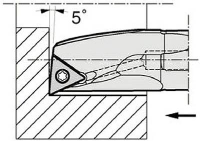 京セラ KYOCERA 内径加工用ホルダ A10L-STLCL11-12AE [A080115]
