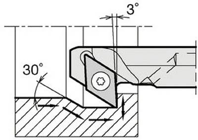 京セラ KYOCERA 内径加工用ホルダ A16Q-SDZCR11-23AE [A080115]