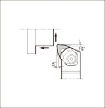 京セラ KYOCERA 外径加工用ホルダ WWLNR2020K-08 [A080115]