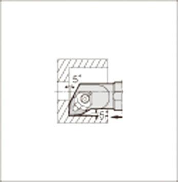 京セラ KYOCERA 内径加工用ホルダ S25S-WWLNR08-28E [A080115]