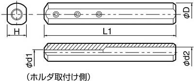 京セラ KYOCERA 内径加工用ホルダ SH1020-120 [A080115]