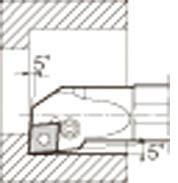 京セラ KYOCERA 内径加工用ホルダ S20Q-PCLNR09-27 [A080115]