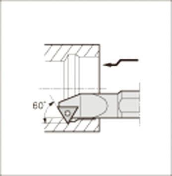 京セラ KYOCERA 内径加工用ホルダ S16R-STWPR11-20E [A080115]
