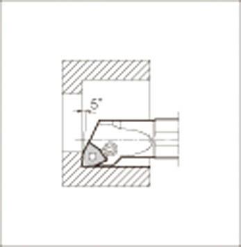 京セラ KYOCERA 内径加工用ホルダ S32S-PWLNR08-40 [A080115]