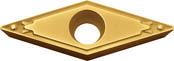 京セラ KYOCERA 旋削用チップ PVDサーメット PV7020(10個入) VBMT160404HQ [A080115]