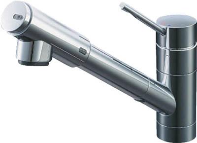 【◆◇マラソン!ポイント2倍!◇◆】LIXIL リクシル INAX 浄水器内臓シングルレバー混合水栓(オールインワンEモダンタイプ) JF-1450SXJW [A150504]