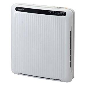 アイリスオーヤマ IRIS 空気清浄機 PM2.5対応 ホコリセンサー付き ホワイト/グレー PMAC-100S [G030601]