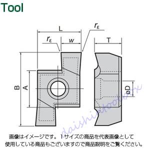 タンガロイ 旋削用溝入れTACチップ 超硬 UX30(10個入) 8GL300 [A080115]