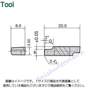 タンガロイ 旋削用溝入れTACチップ 超硬 UX30(10個入) XGR6320-02 [A080115]