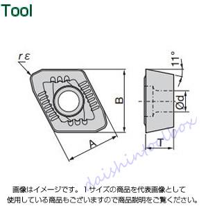 タンガロイ TACドリル用TACチップ COAT AH740(10個入) XPMT08T308R-DJ [A080115]