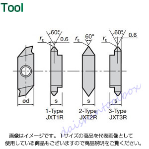タンガロイ 旋削用溝入れTACチップ 超硬 TH10(10個入) JXT2R6000F [A080115]