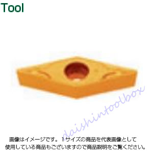タンガロイ 旋削用M級ポジTACチップ COAT T6020(10個入) VCMT110304-PS [A080115]