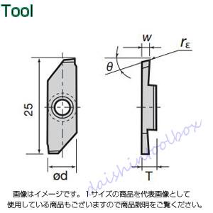 タンガロイ 旋削用溝入れTACチップ COAT J740(10個入) JXGR8200FA-005 [A080115]
