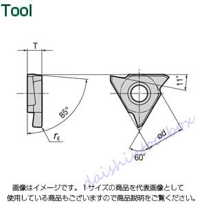 タンガロイ 旋削用溝入れTACチップ COAT AH710(10個入) GBL43450 [A080115]
