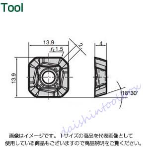 タンガロイ 転削用K.M級TACチップ COAT AH120(10個入) SWMW13T3AFTR [A080115]