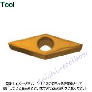 タンガロイ 旋削用M級ポジTACチップ COAT T6030(10個入) VBMT160404-PF [A080115]
