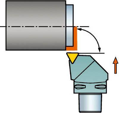 サンドビック コロマントキャプト コロターンRC用カッティングヘッド C4-DTFNL-17090-16 [A071727]
