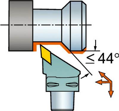 サンドビック 【個人宅不可】 コロマントキャプト T-Max P用カッティングヘッド C4-MVJNR-27050-16 [A071727]