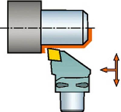 サンドビック コロマントキャプト コロターン107用カッティングヘッド C5-SCLCL-35060-12 [A071727]