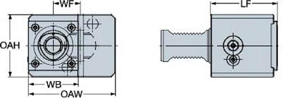 サンドビック 【個人宅不可】 キャプトクランピングユニット C5-TLE-GM40V [A012501]