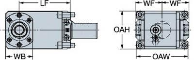 サンドビック キャプトクランピングユニット C5-TRI-GM40V-R [A012501]